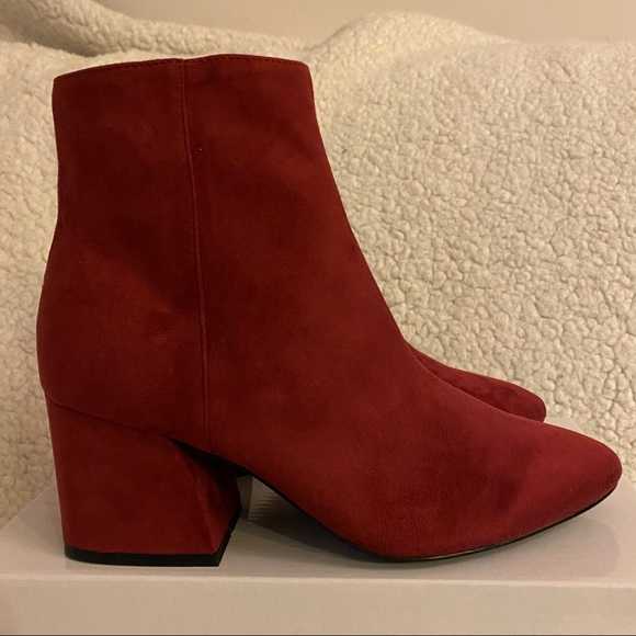 Brand New TOPSHOP Faux Suede Booties